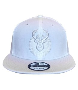 NEW ERA WHITE PRIMARY MONO SNAPBACK