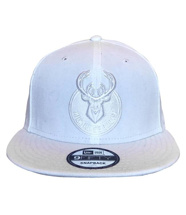 5feb1e3bafe68 New Era Milwaukee Mono Primary Logo Snapback Hat - MODA3