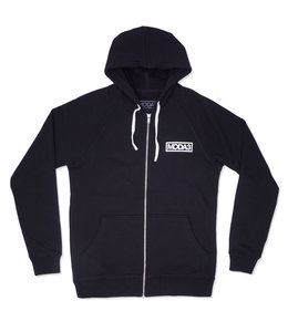 MODA3 BOX OUTLINE  ZIP-UP HOODIE