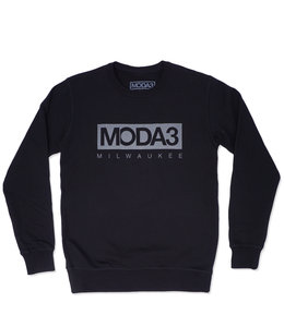 MODA3 BOX LOGO CREWNECK SWEATSHIRT