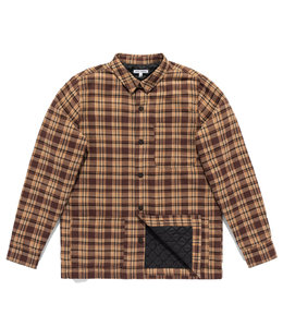 BANKS JOURNAL DUTY LINED FLANNEL SHIRT
