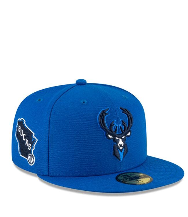 NEW ERA Bucks City Edition Alternate 9Fifty Snapback Hat