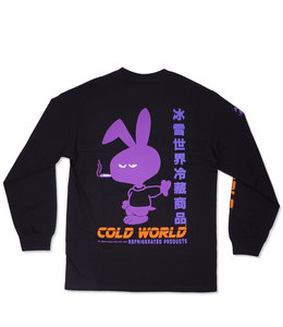 COLD WORLD MEAN BUNNY LONG SLEEVE TEE
