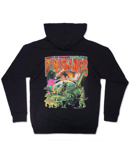 COLD WORLD RIP DINOSAURS PULLOVER HOODIE
