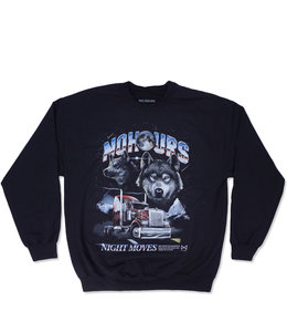 NOHOURS NIGHT MOVES CREWNECK SWEATSHIRT