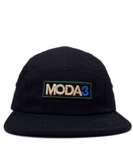 MODA3 OUTLINE LOGO 5-PANEL CAMP HAT