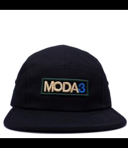 MODA3 OUTLINE LOGO 5-PANEL CAMP HAT
