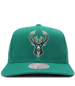 MITCHELL AND NESS BUCKS MELLOW TONE SNAPBACK HAT