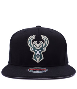 MITCHELL AND NESS BUCKS DOWNTIME SNAPBACK HAT