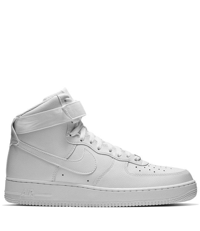 zapatilla Fantástico biología  Nike Air Force 1 High '07 - White/White - MODA3
