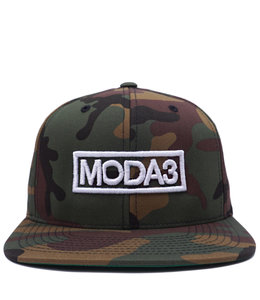 MODA3 OUTLINE LOGO SNAPBACK HAT
