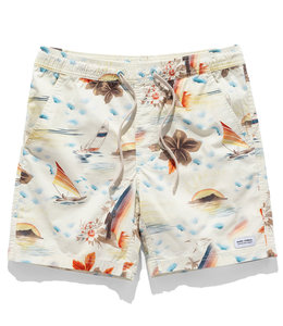 BANKS JOURNAL RAINBOW ELASTIC BOARDSHORT