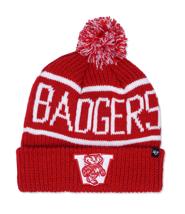 '47 BRAND Badgers Calgary Cuff Knit Beanie