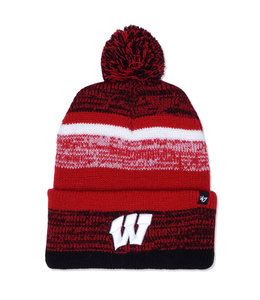 '47 BRAND BADGERS NORTHWARD CUFF KNIT BEANIE