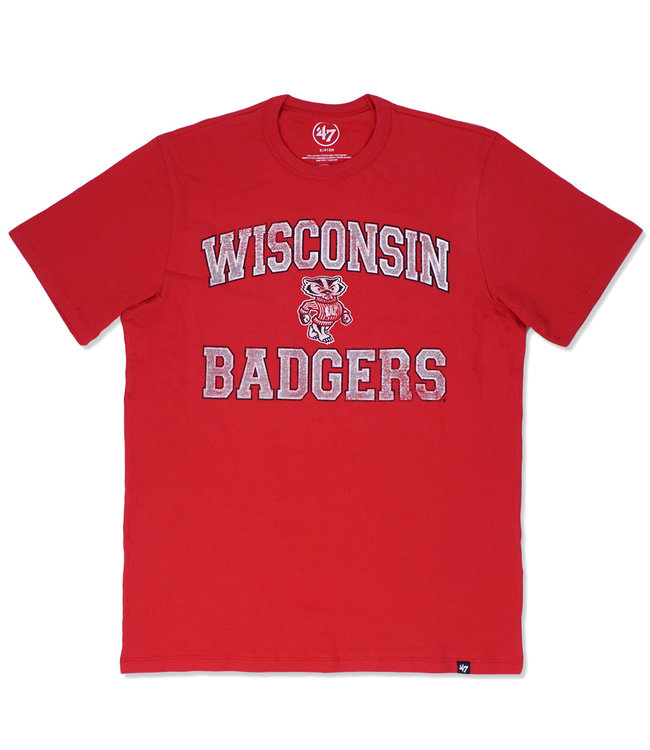 '47 BRAND Badgers Union Arch Tee