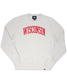 '47 BRAND BADGERS BLOCK ARCH CREWNECK