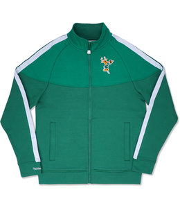 MITCHELL AND NESS BUCKS MVP TRACK JACKET