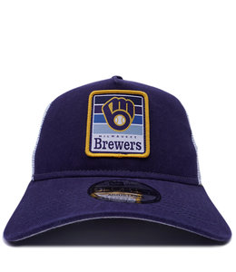 NEW ERA BREWERS GRADIENT 9FORTY TRUCKER HAT