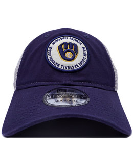 NEW ERA BREWERS CIRCLE TRUCKER 9TWENTY HAT