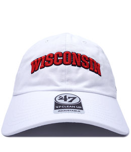 '47 BRAND BADGERS SCRIPT CLEAN UP HAT