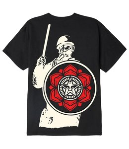 OBEY RIOT COP PEACE SHIELD CLASSIC TEE