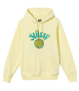 STUSSY CITY SEAL EMBROIDERED HOOD