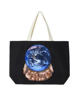 OBEY OUR PLANET IS IN YOUR HANDS TOTE
