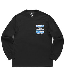 NOTHIN'SPECIAL NOTICE LONG SLEEVE TEE