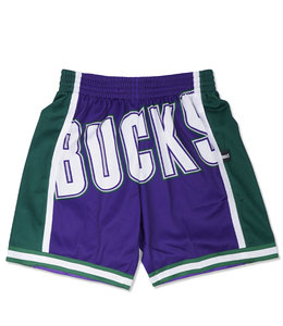 MITCHELL AND NESS BUCKS BLOWN OUT SHORTS