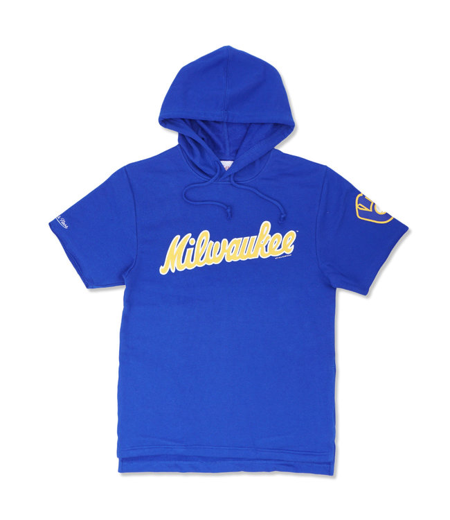 MITCHELL AND NESS Brewers Gameday SS Hoodie