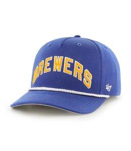 '47 BRAND BREWERS COOPERSTOWN BROOKWOOD MVP HAT