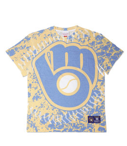 MITCHELL AND NESS BREWERS JUMBOTRON TEE
