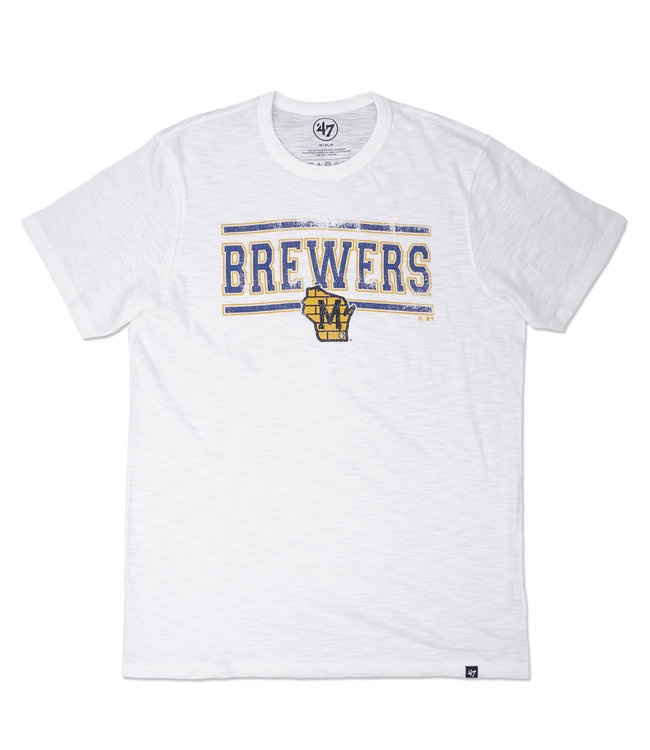 '47 BRAND Brewers Home Stand Scrum Tee
