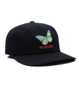 OBEY HELL ON EARTH 6 PANEL STRAPBACK HAT