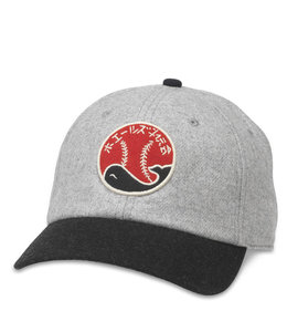 AMERICAN NEEDLE TAIYO WHALES ARCHIVE HAT