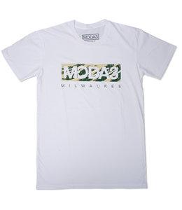 MODA3 BOX LOGO JAZZ BUCK TEE