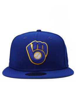 NEW ERA BREWERS '82 WORLD SERIES FITTED HAT
