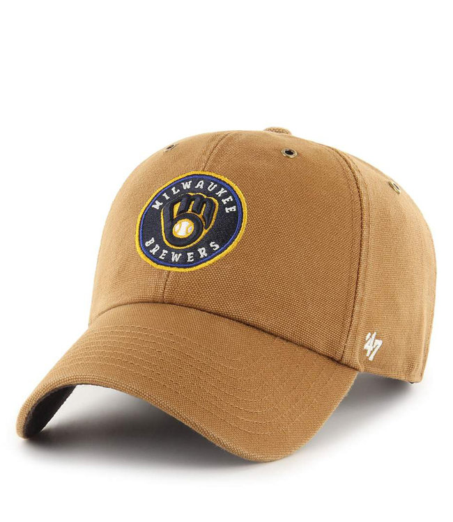 '47 BRAND Brewers Carhartt Clean Up Hat