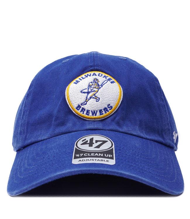 '47 BRAND Brewers Barrelman Clean Up Hat