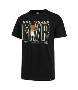 '47 BRAND BUCKS NBA CHAMPIONS GIANNIS MVP TEE