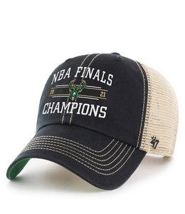 '47 BRAND BUCKS NBA CHAMPIONS TRAWLER CLEAN UP HAT