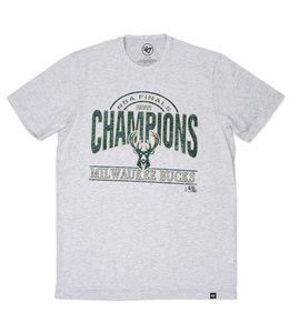 '47 BRAND BUCKS NBA CHAMPIONS FRANKLIN TEE