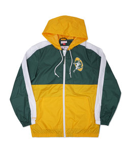 MITCHELL AND NESS PACKERS GAMEDAY WINDBREAKER JACKET