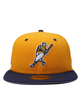 NEW ERA BREWERS BARRELMAN 59FIFTY FITTED HAT