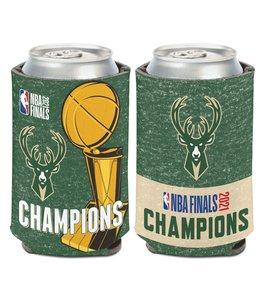 WINCRAFT BUCKS 2021 NBA CHAMPIONS CAN COOLER