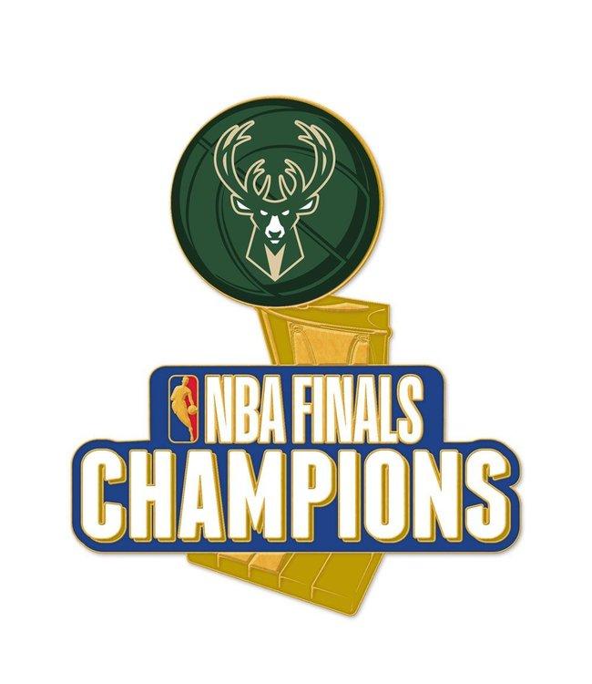 WINCRAFT Bucks 2021 NBA Champions Collector Pin