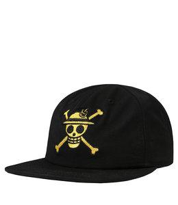 THE HUNDREDS X ONE PIECE SNAPBACK HAT
