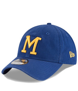 NEW ERA BREWERS RETRO CORE CLASSIC 9TWENTY ADJUSTABLE HAT
