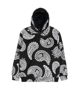 THE HUNDREDS VIDES PAISLEY PULLOVER HOODIE