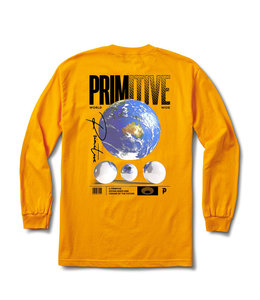 PRIMITIVE WORLDWIDE VISION LONG SLEEVE TEE